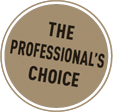 The choice of the professional!